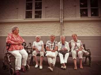 old sitting